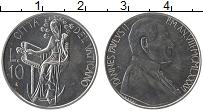 Изображение Монеты Ватикан 10 лир 1986 Алюминий UNC