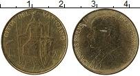 Изображение Монеты Ватикан 20 лир 1980 Латунь UNC