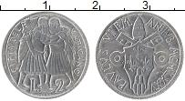 Изображение Монеты Ватикан 2 лиры 1975 Алюминий UNC Понтифик Павел VI.Св