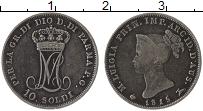 Изображение Монеты Парма 10 сольди 1815 Серебро XF- Мария-Луиза Австрийс