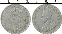Изображение Монеты Южная Африка 2 1/2 шиллинга 1934 Серебро VF+