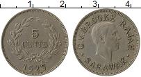 Продать Монеты Саравак 5 центов 1927 Медно-никель