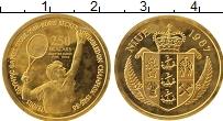 Изображение Монеты Ниуэ 250 долларов 1987 Золото Proof- Борис Беккер - олимп