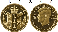 Изображение Монеты Ниуэ 250 долларов 1988 Золото Proof- 25 лет со дня гибели