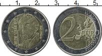 Изображение Монеты Финляндия 2 евро 2012 Биметалл XF 150 лет со дня рожде
