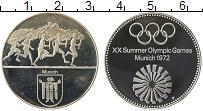 Изображение Монеты ФРГ Жетон 1972 Серебро Proof- XX Летние Олимпийски