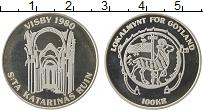 Изображение Монеты Швеция 100 крон 1980 Серебро Proof- Городские деньги
