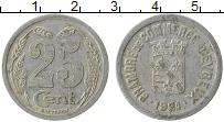 Изображение Монеты Франция 25 сантим 1921 Алюминий XF-