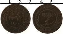 Изображение Монеты Индия 2 пайса 0 Медь XF