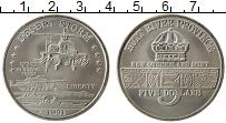 Продать Монеты Хатт-Ривер 5 долларов 1991 Медно-никель