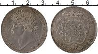 Изображение Монеты Великобритания 1/2 кроны 1820 Серебро UNC- Георг IV