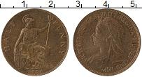 Изображение Монеты Великобритания 1/2 пенни 1901 Бронза UNC-