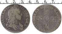 Изображение Монеты Великобритания 1 крона 1695 Серебро VF