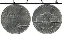 Изображение Монеты США 5 центов 2006 Медно-никель UNC-