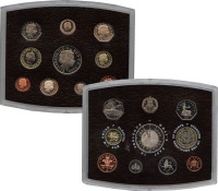 Изображение Подарочные монеты Европа Великобритания Годовой набор 2000 2000  Proof
