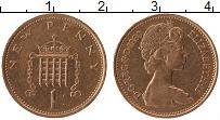Изображение Монеты Великобритания 1 пенни 1980 Бронза XF