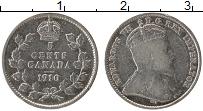 Изображение Монеты Канада 5 центов 1910 Серебро VF Эдуард VII
