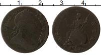 Изображение Монеты Великобритания 1 фартинг 1773 Медь VF Георг III