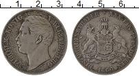 Изображение Монеты Вюртемберг 1 талер 1860 Серебро XF Вильгельм