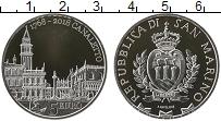 Изображение Монеты Сан-Марино 5 евро 2018 Серебро Proof- Герб Сан-Марино. 250