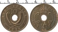 Продать Монеты Восточная Африка 10 центов 1936 Бронза