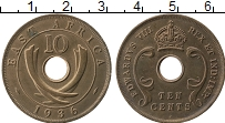 Продать Монеты Восточная Африка 10 пенсов 1942 Медь