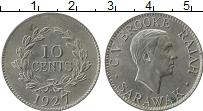 Продать Монеты Саравак 10 центов 1927 Медно-никель