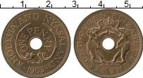 Продать Монеты Родезия 1 пенни 1963 Медь