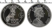 Изображение Монеты Гибралтар 5 фунтов 2008 Серебро Proof Елизавета II. Истори