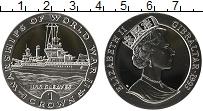Изображение Монеты Гибралтар 1 крона 1993 Серебро Proof Елизавета II. Боевые
