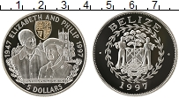 Продать Монеты Белиз 5 долларов 1997 Серебро