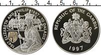 Продать Монеты Гамбия 10 даласи 1997 Серебро