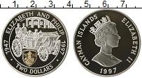 Продать Монеты Каймановы острова 2 доллара 1997 Серебро