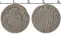 Изображение Монеты Силезия 3 крейцера 0 Серебро VF+ Карл II