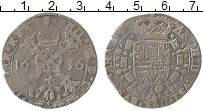 Продать Монеты Испанские Нидерланды 1/2 патагона 1656 Серебро