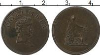 Изображение Монеты Великобритания 1 фартинг 0 Медь XF Токен. Бирмингем 182