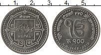 Изображение Мелочь Непал 100 рупий 2019 Медно-никель UNC