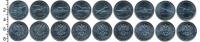 Изображение Наборы монет Россия 25 рублей 2019 Медно-никель UNC