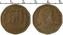 Изображение Монеты Чили 50 песо 1988 Бронза XF