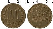 Изображение Монеты Чили 100 песо 1994 Бронза XF