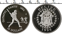 Продать Монеты Белиз 10 долларов 1996 Серебро