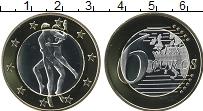 Изображение Монеты Германия 6 секс евро 0 Биметалл UNC Сувенир. Данный това