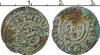 Изображение Монеты Рига 1 солид 1653 Серебро VF Кристина