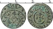 Изображение Монеты Рига 1 солид 1652 Серебро VF Кристина