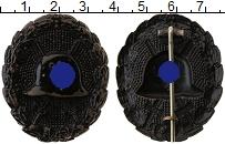 Изображение Значки, ордена, медали Третий Рейх Знак 0 Латунь XF