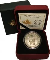 Изображение Подарочные монеты Канада 10 долларов 2013 Серебро UNC