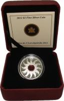 Изображение Подарочные монеты Канада 3 доллара 2012 Серебро Proof