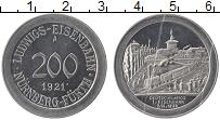 Изображение Монеты Германия : Нотгельды 200 марок 1921 Алюминий UNC- А. Нюрнберг
