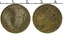 Изображение Монеты Франция Жетон 1894 Серебро VF Марианна. Полый жето