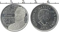Изображение Монеты Канада 25 центов 2012 Медно-никель UNC Елизавета II. Англо-